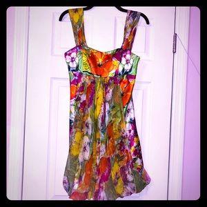 ⭐️⭐️SCALA Strapless Dress w/mesh overlay